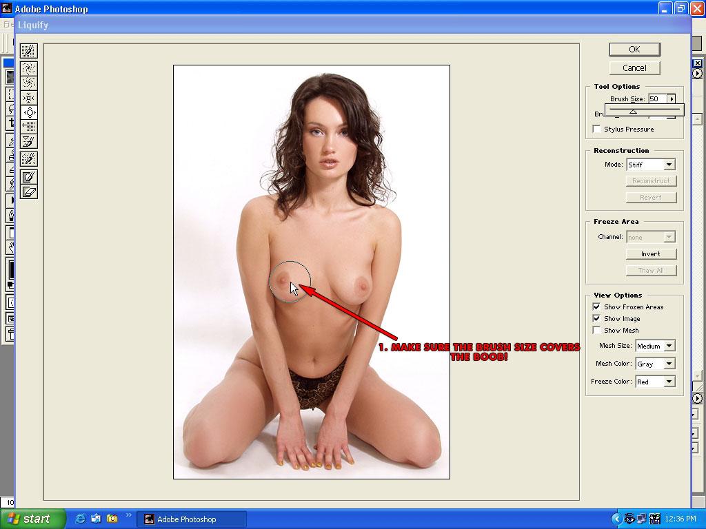 увеличение груди при менструации